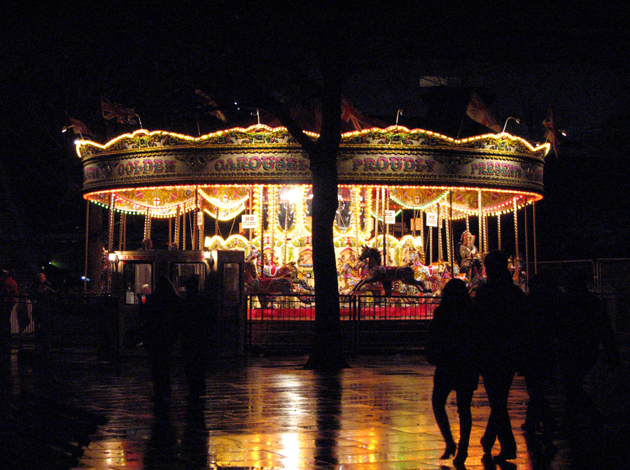 A Carousel by the Thames