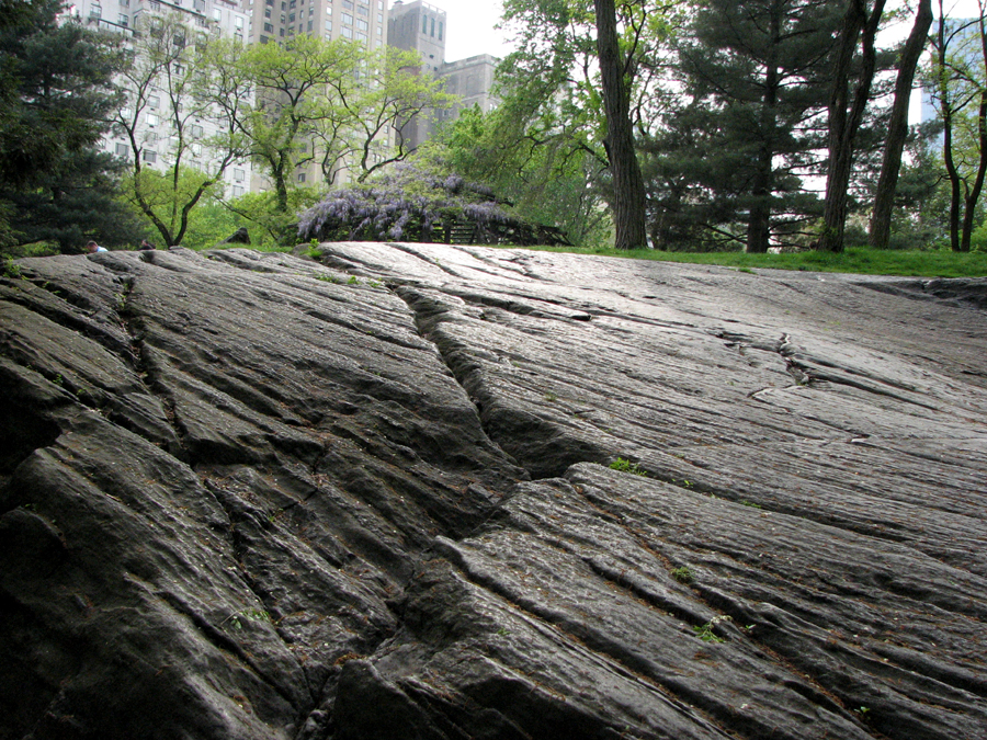 Man and Nature, Buildings and Bedrock, Central Park