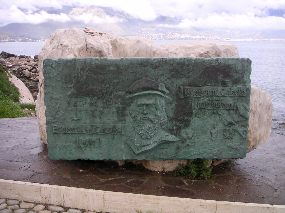 Giovanni Cabota Monument in Gaeta
