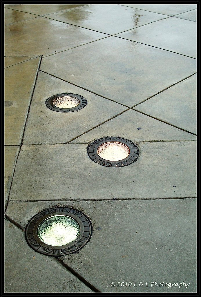 Lights in the Pavement, Ocala, Florida