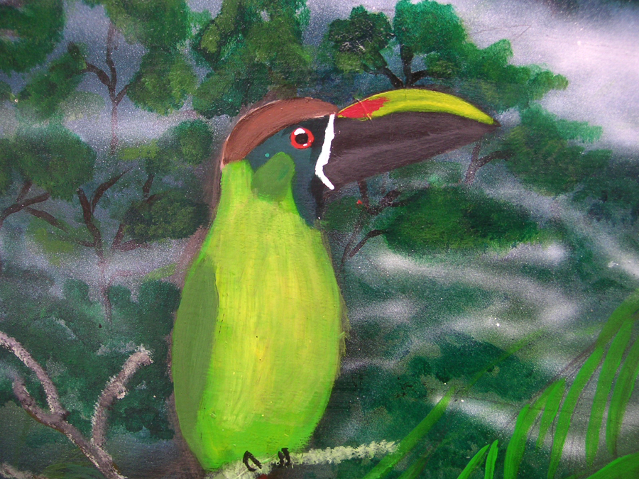 Bird Mural, Panama