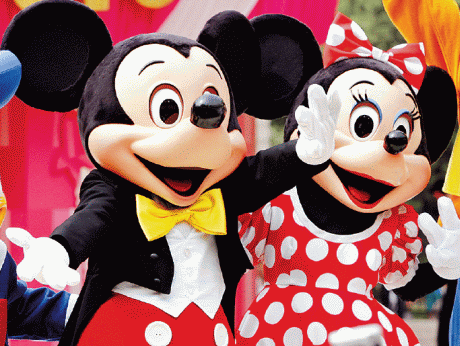 Mickey Mouse dan Minnie Mouse