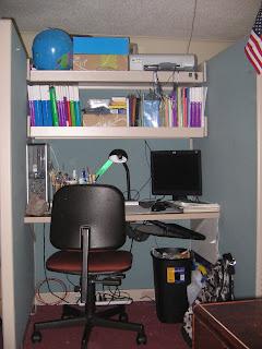3rd grader cubicle