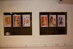 Expo dessin, agrandissement sur format A3 scanner et imprimer.