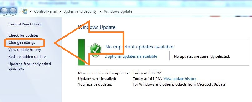 how to check win 7