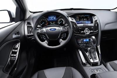 Ford Focus on Gli Interni Della Nuova Ford Focus Presentata Recentemente In Versione