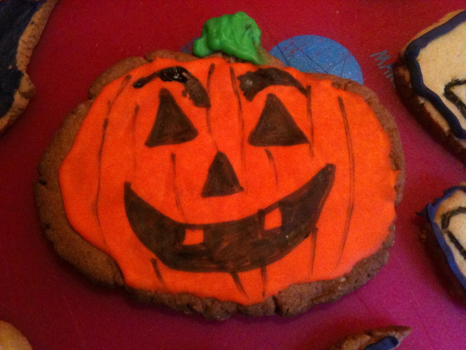 Con la barriguita llena galletas halloween - Halloween hipercor ...