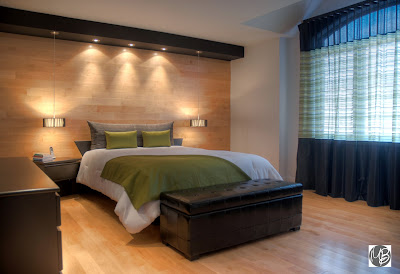 L 39 espace d co habiller murs fen tre et lit dans la for Deco de mur pour chambre