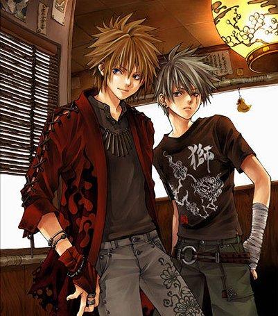Anime boy cool &; stylish