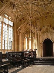 Oxford's Bodleian - Divinity School