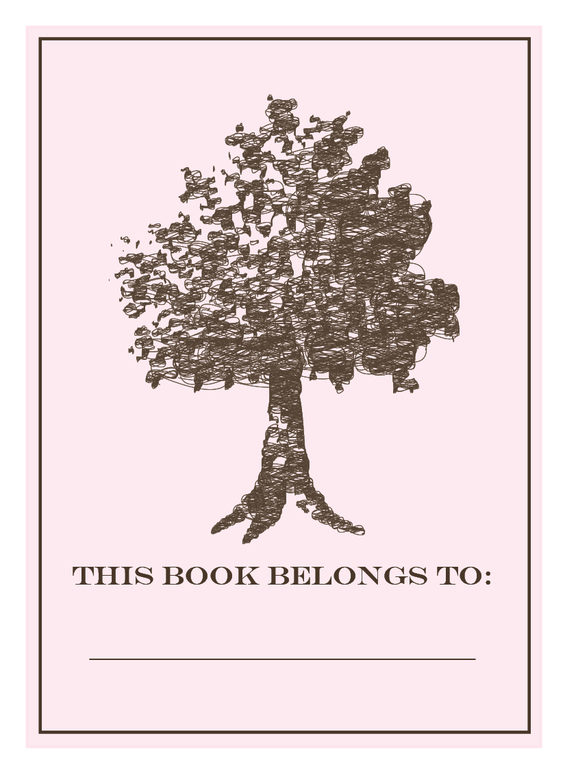 2bsquared designs: bookclub bookplates