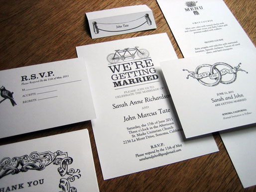 black and white wedding invitations. Black and White Wedding