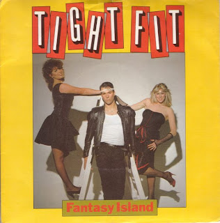 "Cover Album of TIGHT FIT ""FANTASY ISLAND"""