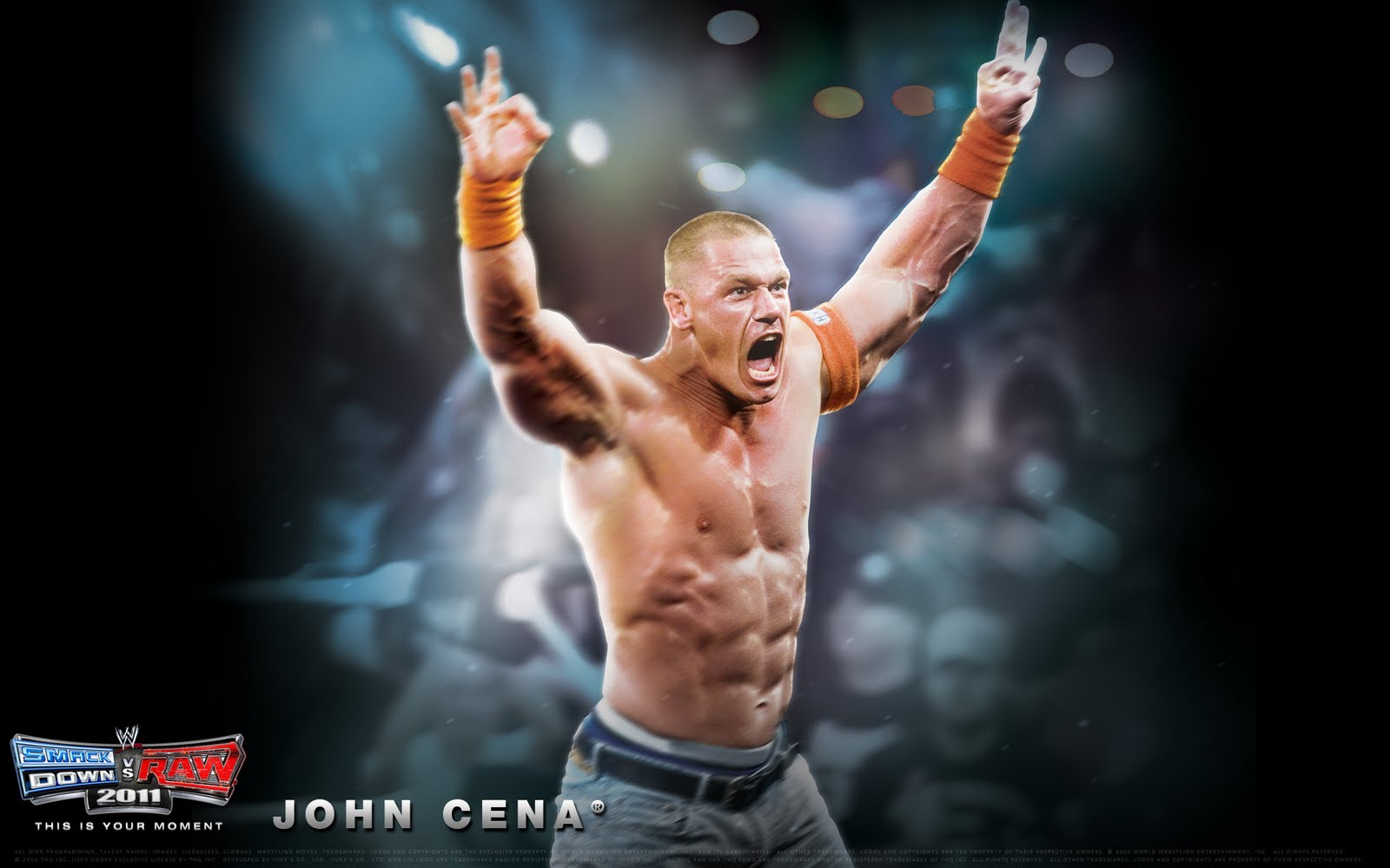 قصة حياة المصارع جون سينا Wwe-smackdown-vs-raw-2011-john-cena-wallpaper