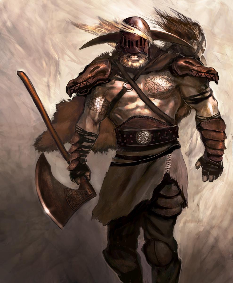 Fred Studart: Viking Berserk