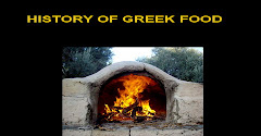 History of greek food