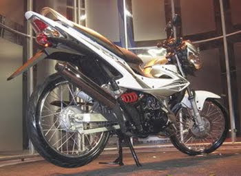 Motorcycle Kawasaki Athlete Fury125