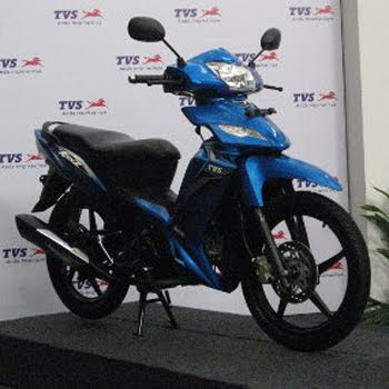 Motorcycle TVS Rockz