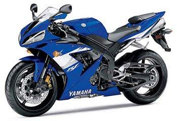 Yamah R1 Blue