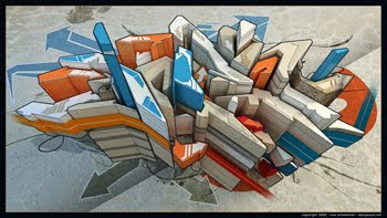 20 GRAFFITI ARTWORKS 3D DESIGN IMPRESSIVE