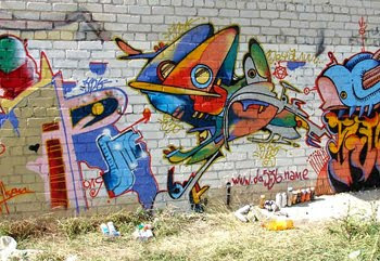 DESIGN COLLECTION GRAFFITI STREET ART