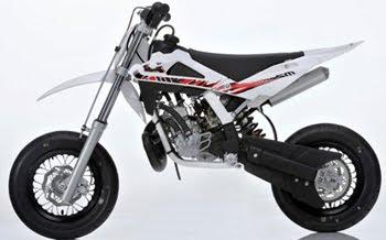 MOTORCYCLE HUSQVARNA SM 50 2011