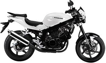 MOTORCYCLE HYOSUNG GT250 F1-SPORT 2011
