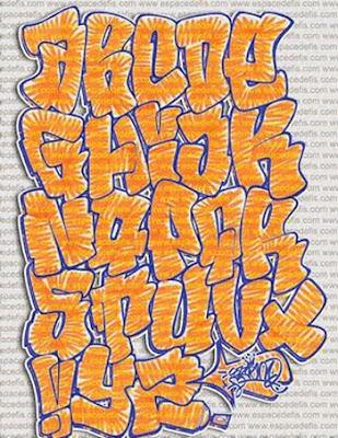 DEISGN STYLE 2010 LETTER A-Z STYLE, Graffiti design, Graffiti Style, Graffiti Letter