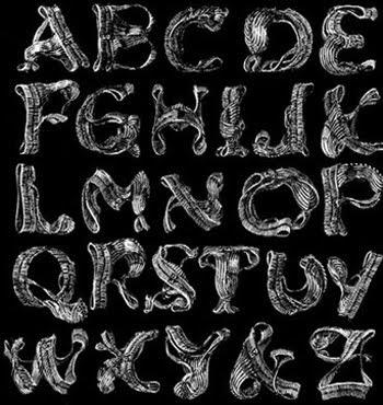 Alphabet Graffiti Styleletters A Z Stone Graffit Skull Cool COLLECTION GRAFFITI DESIGN