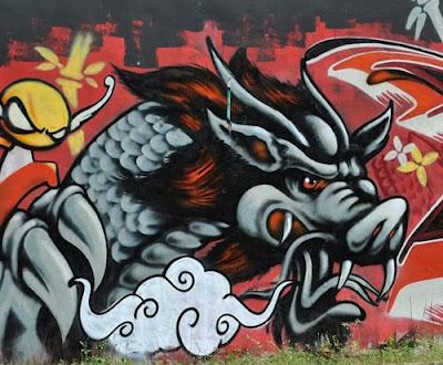 The Best, Dragon, Graffiti, Style, Best Dragon, Dragon Graffiti