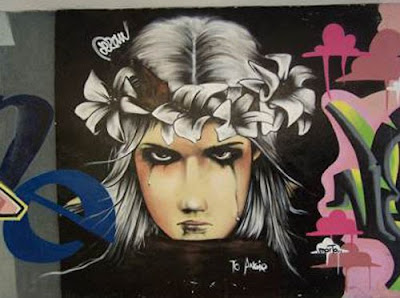 Graffiti, Ibiza,