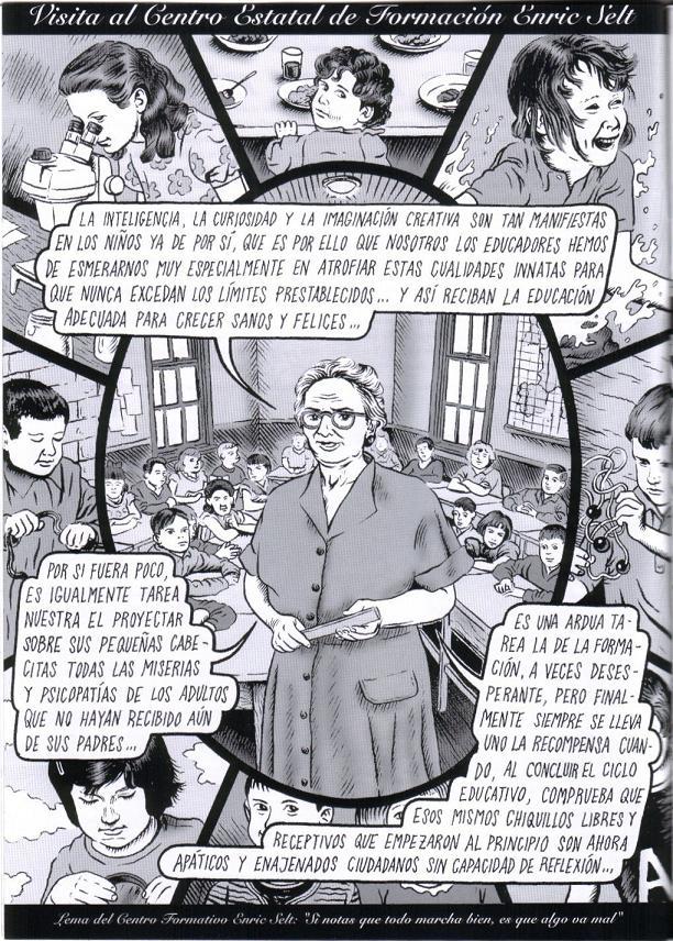 Estos dibujos son obra de Miguel Brieva: