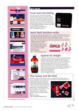 Bluebird & Honey in Giftrap Magazine