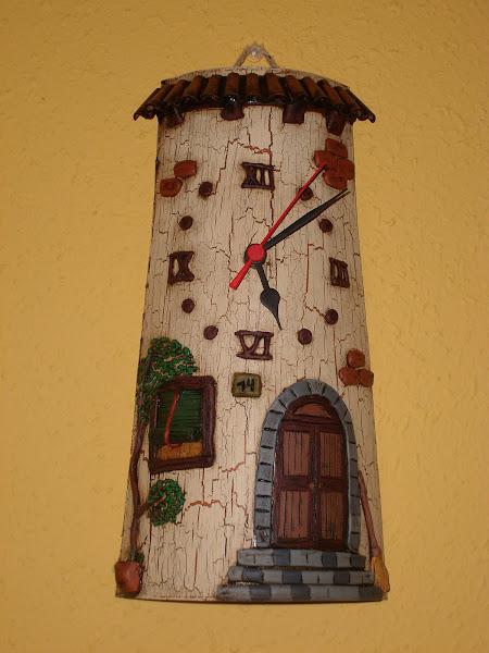 Tejas reloj aprender manualidades es - Accesorios para decorar tejas ...