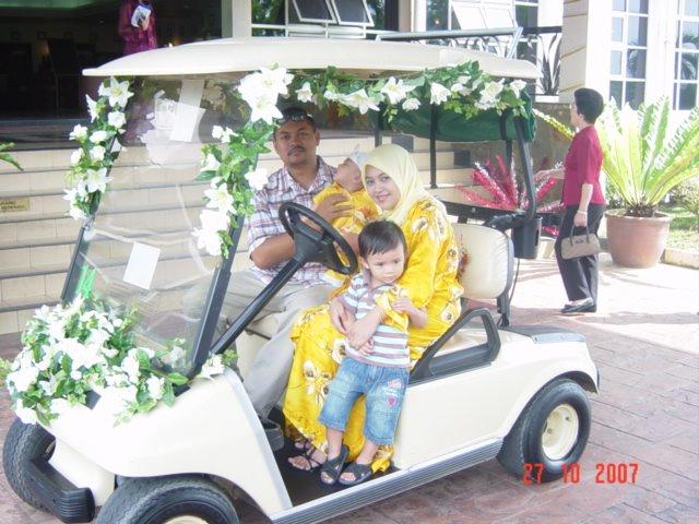 AZHARI : di majlis persandingan rakan di Bangi Golf Club