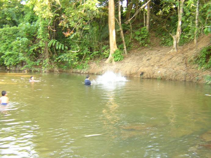 Sungai Lepar lagi....