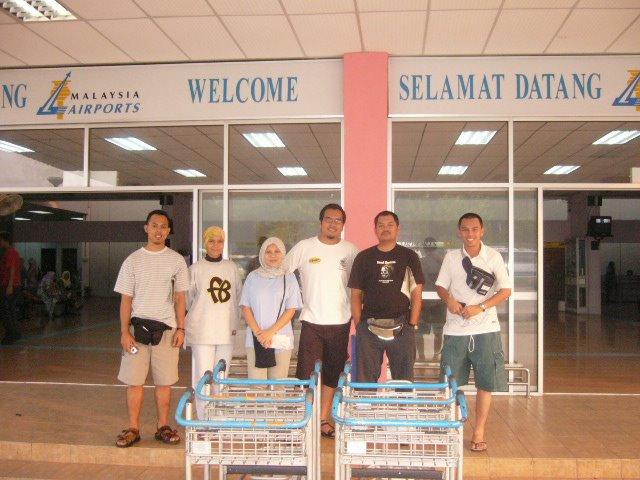 Lapangan Terbang Kuala Trengganu tahun bila ni...2004 rasanya kot