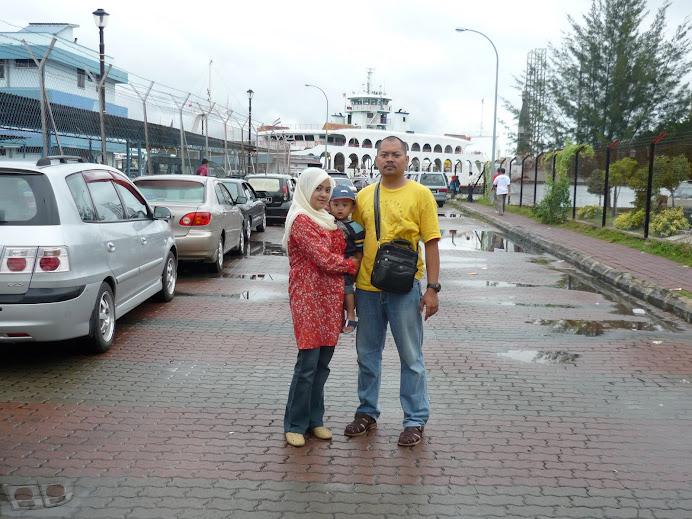 pemandangan semasa Q utk ke Menumbok Sabah dari jeti Labuan menggunakan feri Labuan