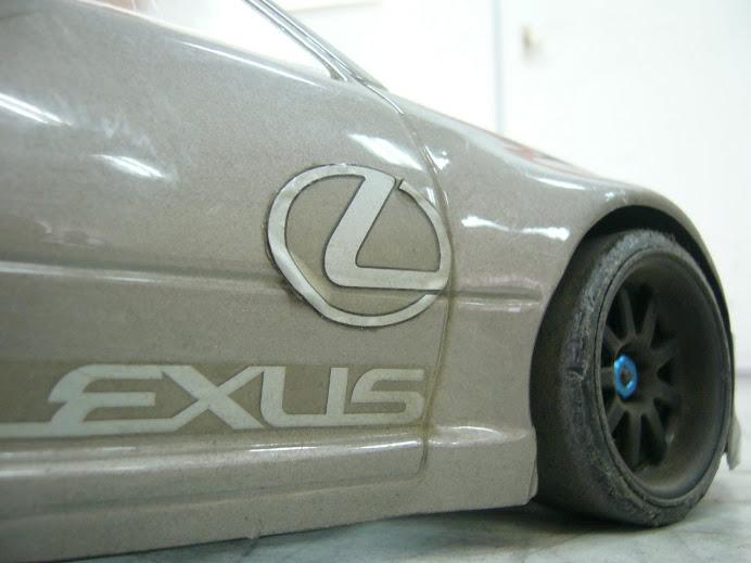 drift Lexus RC