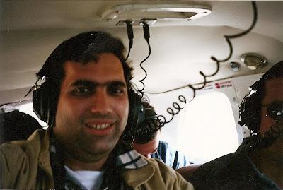 In avion sa zburam peste liniile Nazca