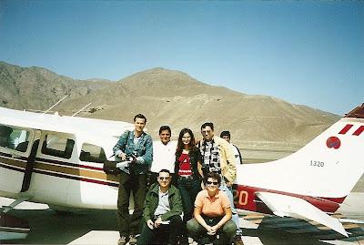 Avion Cessna la Nazca
