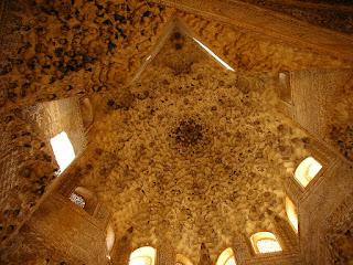 Imagini Andaluzia: Alhambra Granada, arhitectura maura
