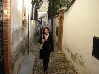 Imagini Granada: pe strazile din Albaicin