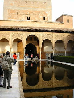 Imagini Granada: palatul Alhmabra