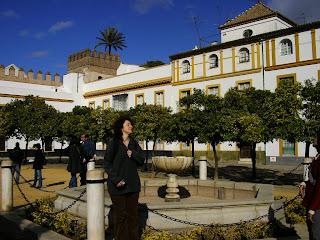 Imagini Spania: piateta in Sevilla