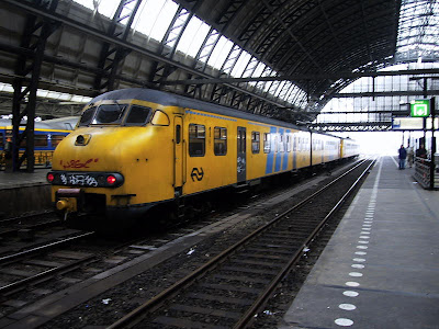 Tren in gara Amsterdam