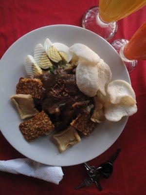 Mancare tipica indoneziana