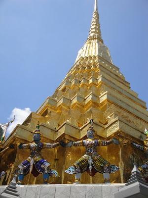 Templu de aur in Bangkok