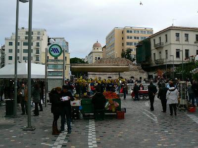 in Monastiraki, centrul Atenei