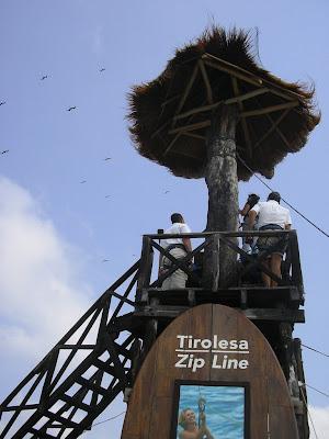 Zipline Isla Mujeres